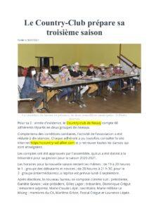 AG article La Montagne